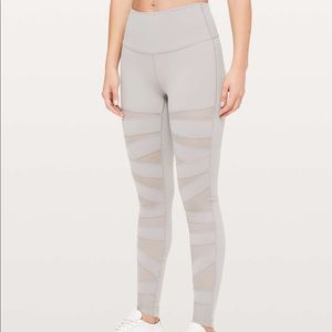 "Wunder Under High Rise 28"" Mesh Tech Leggings"